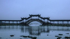 The ancient town landscape in Suzhou. China Royalty Free Stock Photography