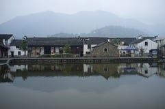 Ancient Town of Longmen. In Zhejiang Fuyang, China Stock Photos
