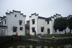 Ancient Town of Longmen. In Zhejiang Fuyang, China Royalty Free Stock Photos