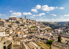Ancient town of Matera, Basilicata, Italy Royalty Free Stock Image