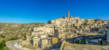 Ancient town of Matera, Basilicata, Italy Royalty Free Stock Photography