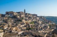 Ancient town of Matera (Sassi di Matera), Basilicata, Italy Stock Photos