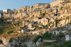 Ancient town of Matera Royalty Free Stock Image