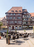 Ancient town of Mosbach in Southern Germany Stock Photos