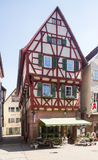 Ancient town of Mosbach in Southern Germany Stock Photo