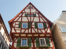 Ancient town of Mosbach in Southern Germany Stock Image