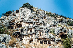Ancient town In Myra Demre Turkey. Royalty Free Stock Image