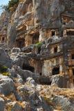 Ancient town in Myra, Turkey Stock Photo