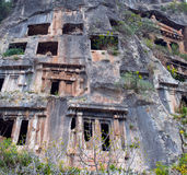 Ancient town in Myra Royalty Free Stock Photo