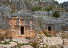 Ancient town in Myra Royalty Free Stock Photography
