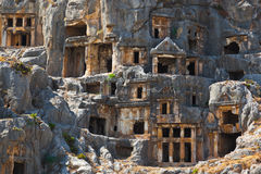 Ancient town in Myra, Turkey Royalty Free Stock Photos