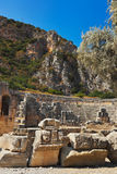 Ancient town in Myra, Turkey Royalty Free Stock Photography