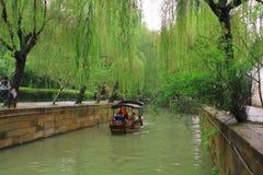 The ancient town of Nanxun at autumn. The scenery of the ancient town of Nanxun royalty free stock image