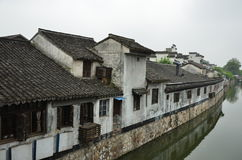 The ancient town of Nanxun. The house of the ancient town of Nanxun royalty free stock image