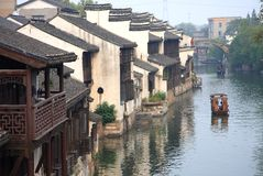 The ancient town of Nanxun,Huzhou,Zhejiang,China royalty free stock photo