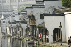 The ancient town of Nanxun,Huzhou,Zhejiang,China. architecture. The ancient town of Nanxun,more then three,four thousand years of history royalty free stock photography