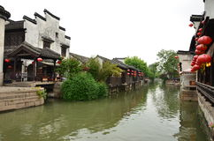 The ancient town of Nanxun Stock Image