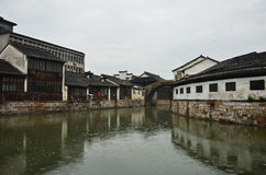 The ancient town of Nanxun Stock Photos