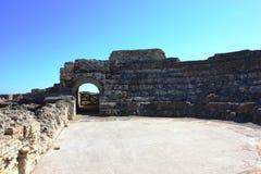 Ancient Town Nora, Sardinia Stock Image