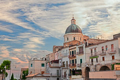 The ancient town Ortona, Abruzzo, Italy Stock Photography