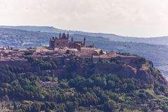 Ancient  town Orvieto, Umbria, Italy Royalty Free Stock Images