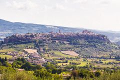 Ancient  town Orvieto, Umbria, Italy Stock Photography