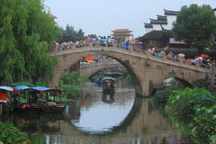 Ancient Town of Qibao, Shanghai Stock Photography