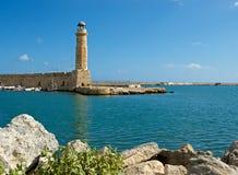 Old lighthouse. Rethymno. Royalty Free Stock Image