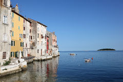 Ancient town Rovinj, Croatia Stock Photography
