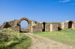 Ancient town ruins Stock Photography