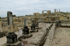 Ancient town ruins Stock Photo