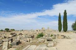 Ancient town ruins Royalty Free Stock Photo