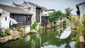 Ancient Town. The ancient town of ShaXi at JiangSu of China stock images