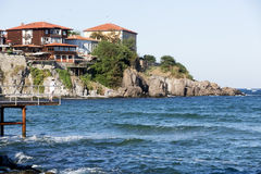 Ancient town of Sozopol, Bulgaria Stock Images