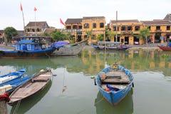 Ancient Town street in Hoi An, Vietnam Stock Photo