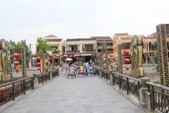 Ancient Town street in Hoi An, Vietnam Stock Photos