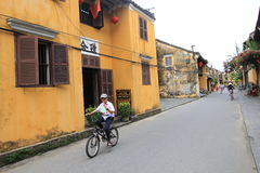 Ancient Town street in Hoi An, Vietnam Royalty Free Stock Image