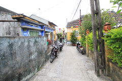 Ancient Town street in Hoi An, Vietnam Stock Image