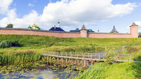 The ancient town of Suzdal. gold ring of Russia. Royalty Free Stock Images