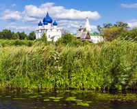 The ancient town of Suzdal. gold ring of Russia. Royalty Free Stock Photography