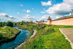 Ancient town of Suzdal, Russia Royalty Free Stock Photos