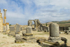 Ancient town temple ruins Stock Images