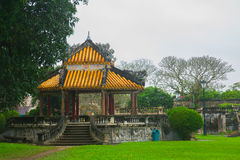 An ancient town in Vietnam, the fortress in the city in hue Stock Images