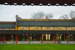An ancient town in Vietnam, the fortress in the city in hue Stock Photos