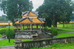 An ancient town in Vietnam, the fortress in the city in hue Stock Photography