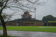 An ancient town in Vietnam, the fortress in the city in hue Stock Photo
