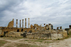 Ancient town Volubilis, Morocco Stock Photos