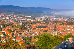 Ancient town Wernigerode Royalty Free Stock Photo