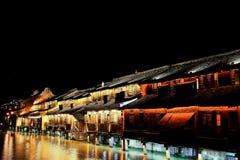 The ancient town of Wuzhen,Tongxiang,Zhejiang,China. The ancient town of Wuzhen, a typical ancient water towns in Jiangnan area of Han nationality in China royalty free stock photos