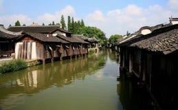 The ancient town of Wuzhen,Tongxiang,Zhejiang,China. The ancient town of Wuzhen, a typical ancient water towns in Jiangnan area of Han nationality in China royalty free stock photo